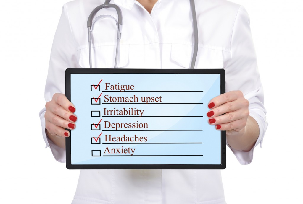 Physician burnout checklist