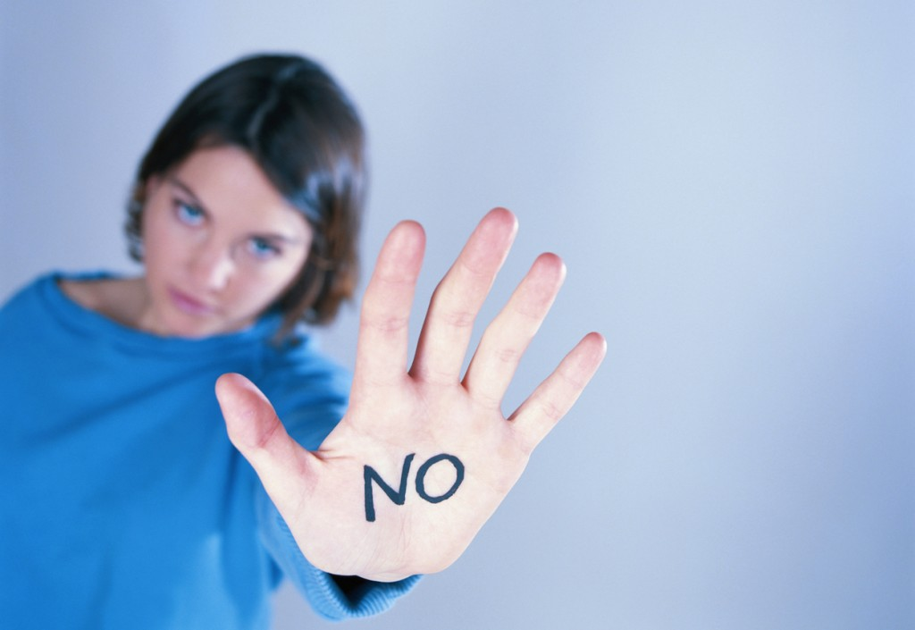 reduce stress, say no